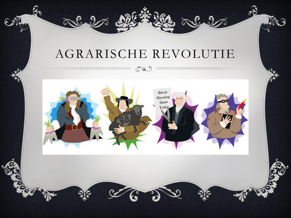 AGRARISCHE REVOLUTIE