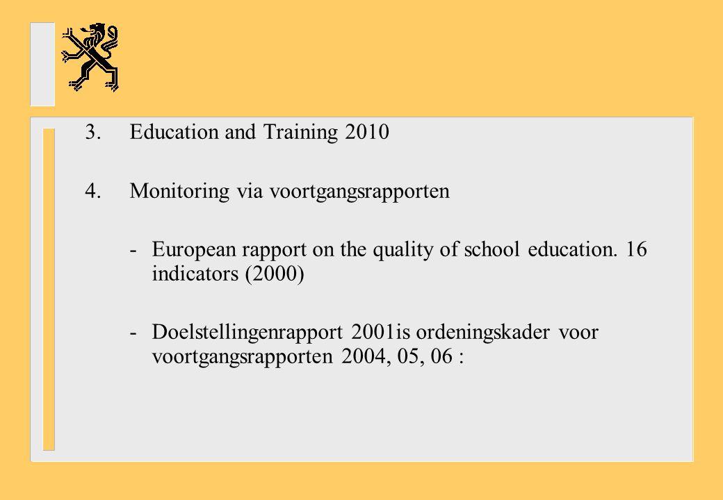 Investeringen in hoger onderwijs: EU: 1,34 %, USA: 2,80 % van BNP -Publieke investeringen: EU en USA gelijkaardig -Private investeringen: USA: 7 X EU Ook: teacher-student ratio average instruction time per teacher