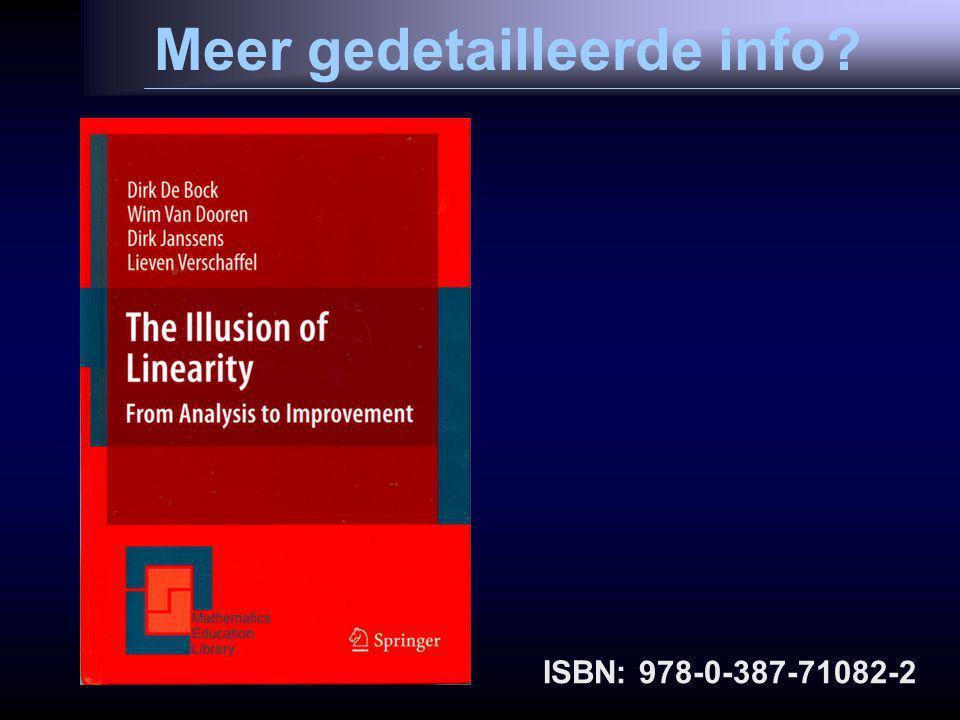 Meer gedetailleerde info ISBN: 978-0-387-71082-2