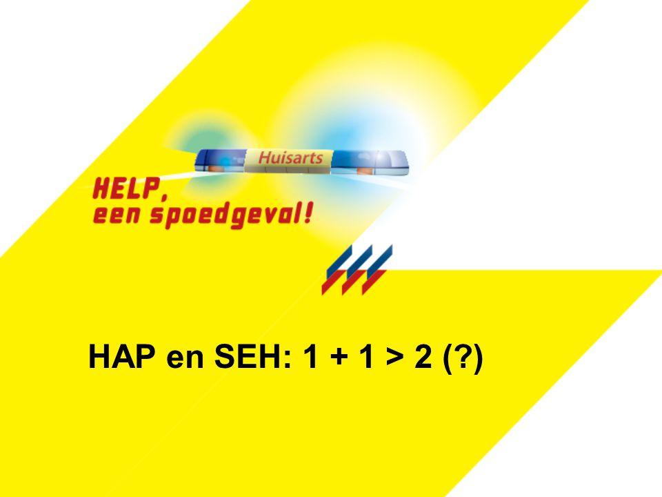 HAP en SEH: 1 + 1 > 2 (?)