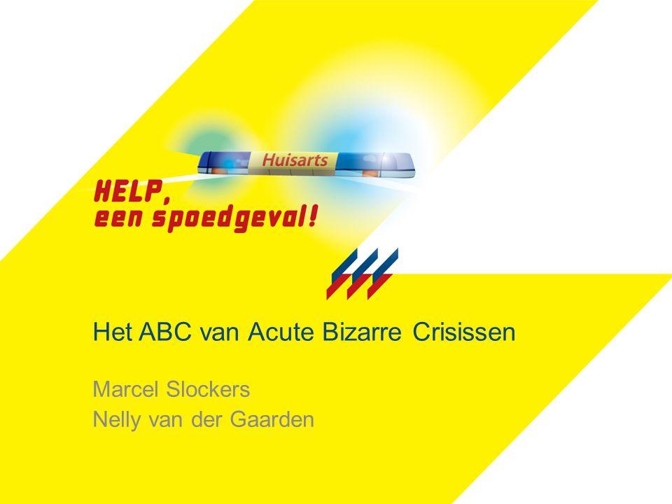Het ABC van Acute Bizarre Crisissen Marcel Slockers Nelly van der Gaarden