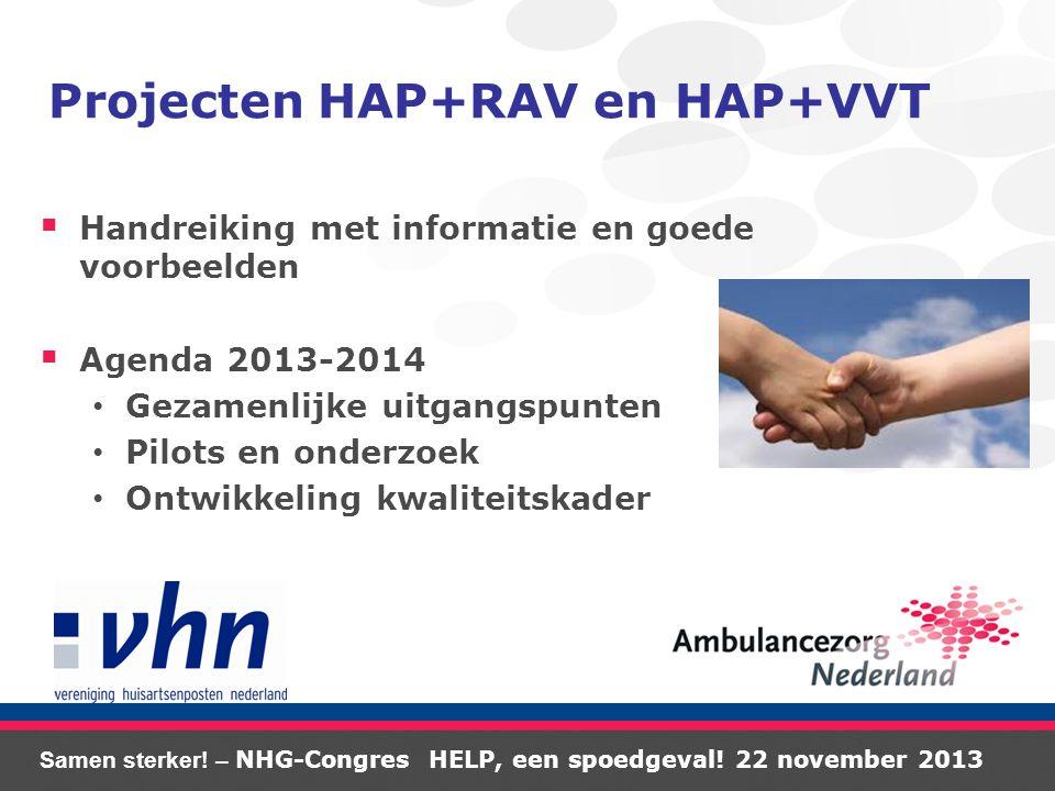 Samen sterker. – NHG-Congres HELP, een spoedgeval.