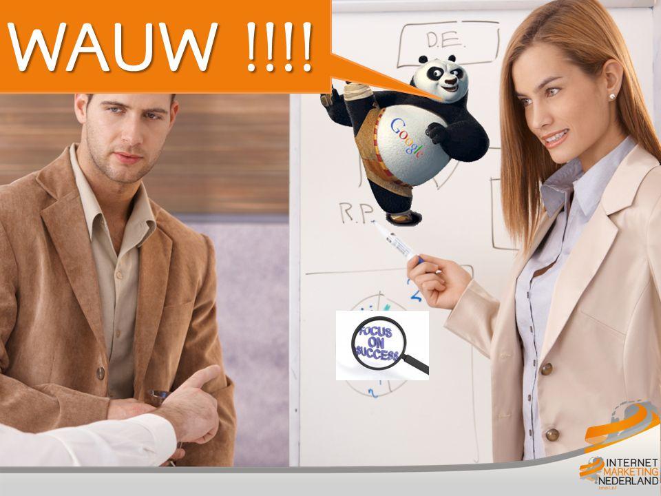 Wauw!!! Google Panda update WAUW !!!!