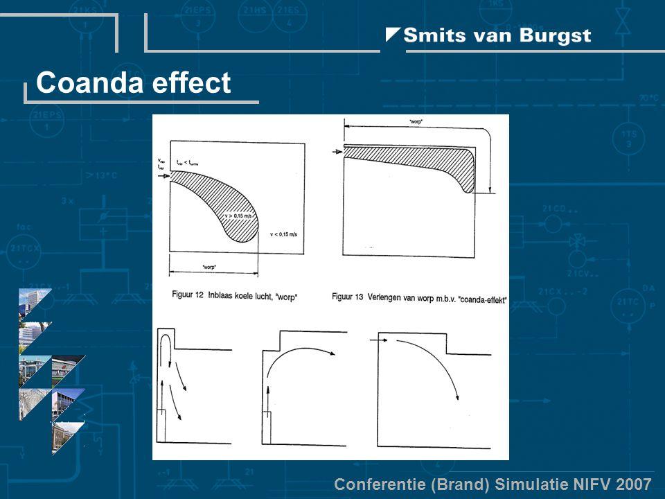 Conferentie (Brand) Simulatie NIFV 2007 Coanda effect