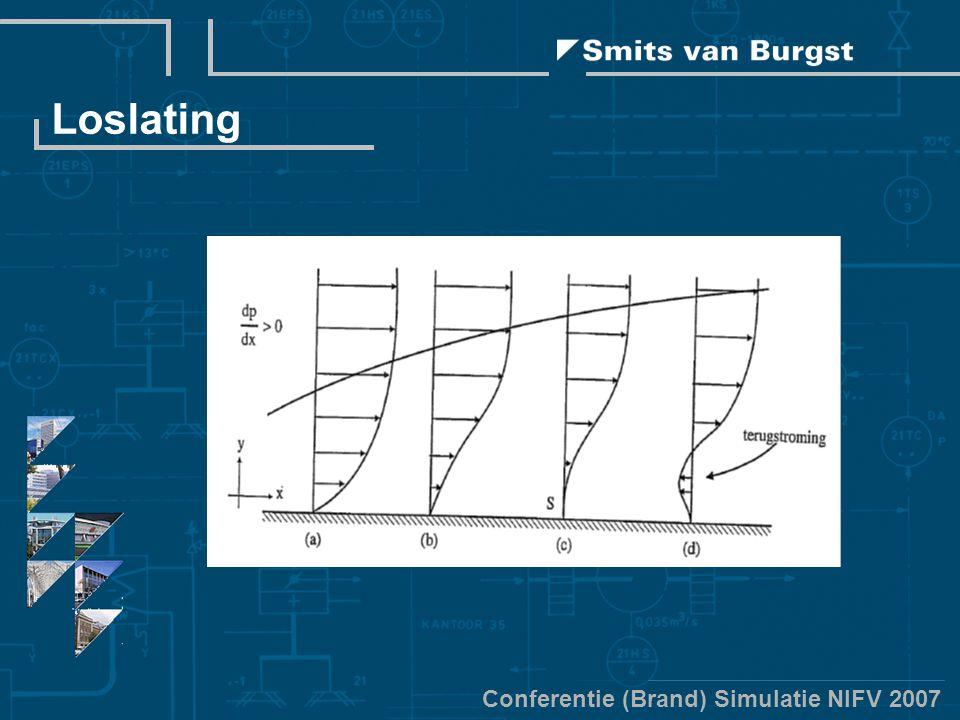 Conferentie (Brand) Simulatie NIFV 2007 Loslating