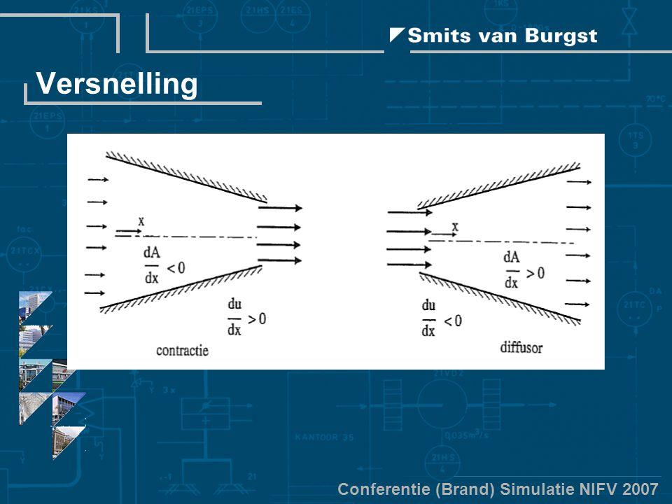 Conferentie (Brand) Simulatie NIFV 2007 Versnelling