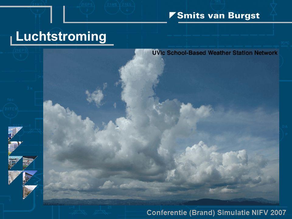 Conferentie (Brand) Simulatie NIFV 2007 Luchtstroming