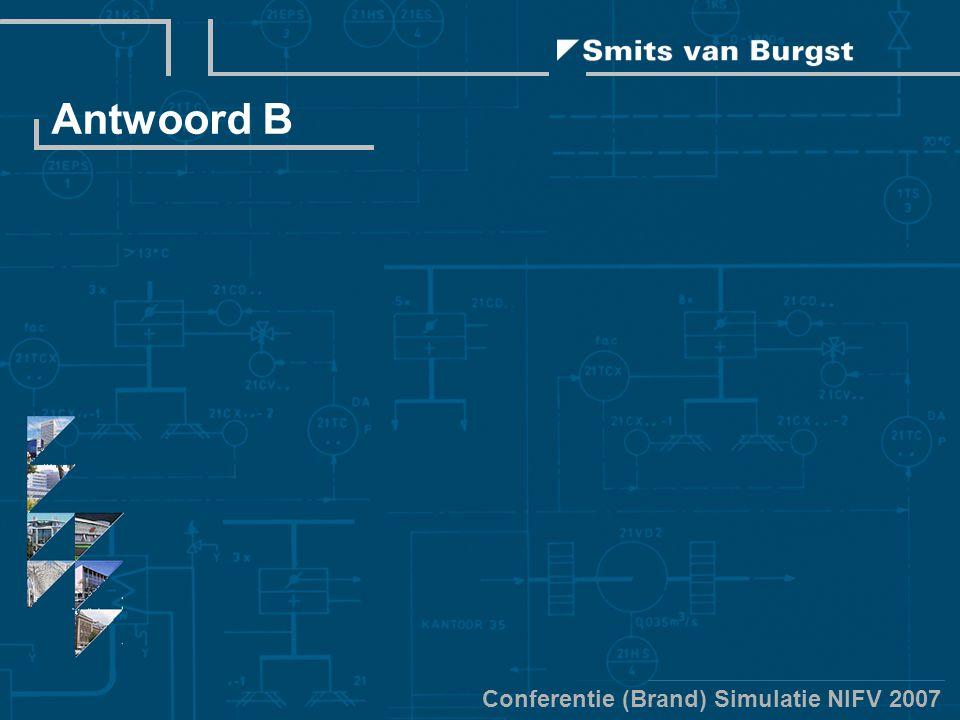 Conferentie (Brand) Simulatie NIFV 2007 Antwoord B