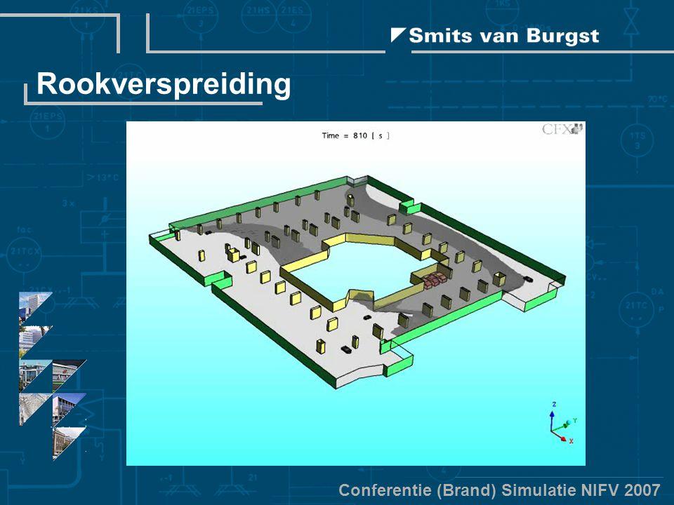 Conferentie (Brand) Simulatie NIFV 2007 Rookverspreiding