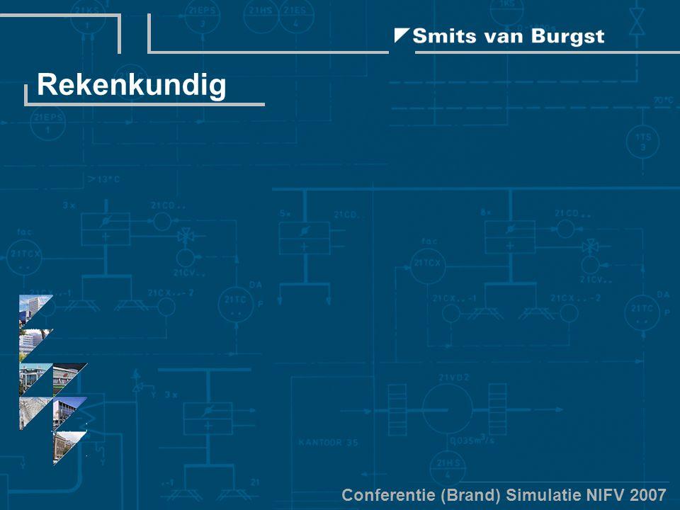 Conferentie (Brand) Simulatie NIFV 2007 Rekenkundig