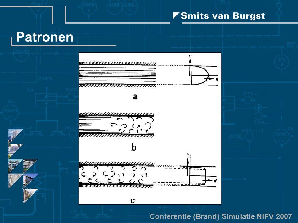 Conferentie (Brand) Simulatie NIFV 2007 Patronen