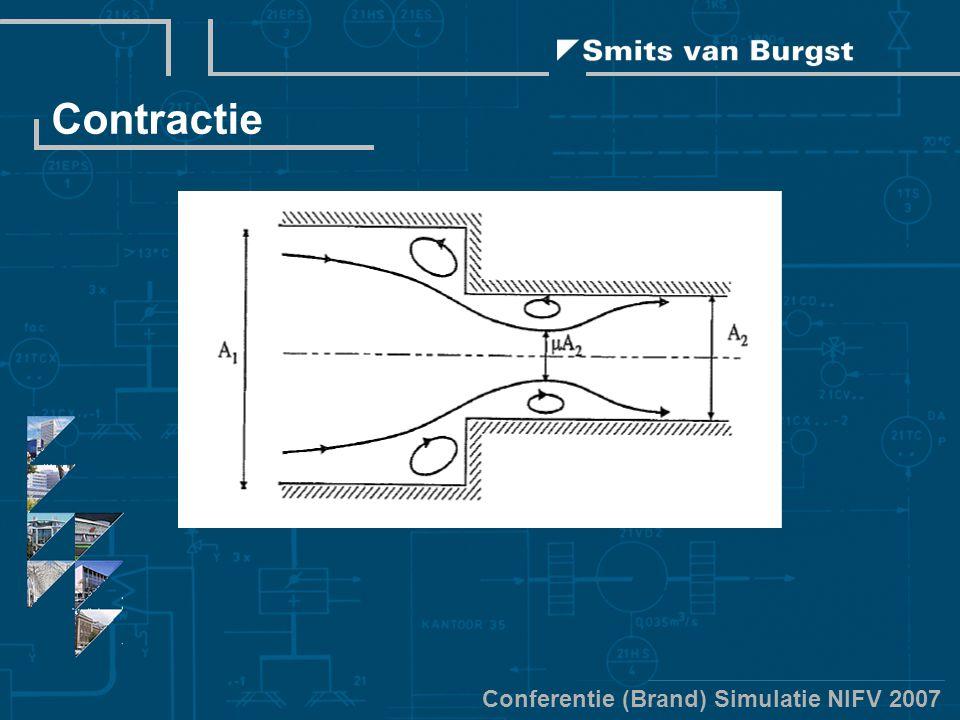 Conferentie (Brand) Simulatie NIFV 2007 Contractie
