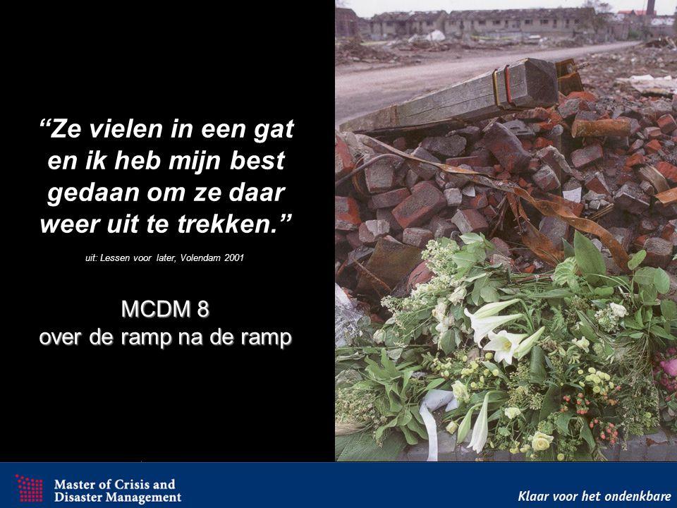 Test Test 2 Rampbestrijding De Slofstracirkel n.a.v. de Bijlmerramp (MCDM3)