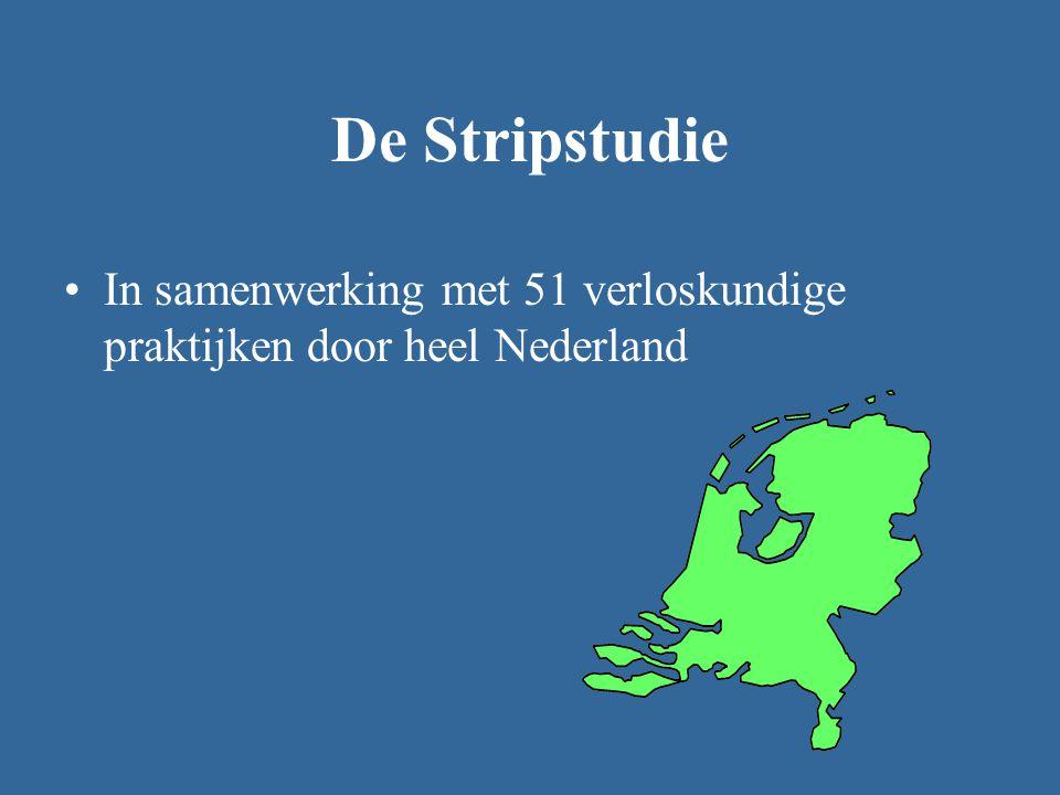 De Stripstudie In samenwerking met 51 verloskundige praktijken door heel Nederland