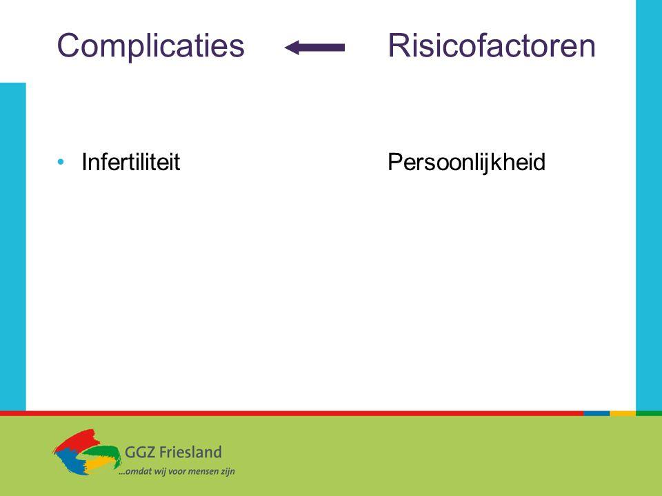 ComplicatiesRisicofactoren InfertiliteitPersoonlijkheid