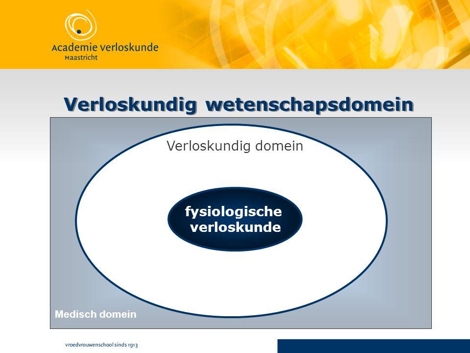 Verloskundig wetenschapsdomein fysiologische verloskunde Verloskundig domein Medisch domein