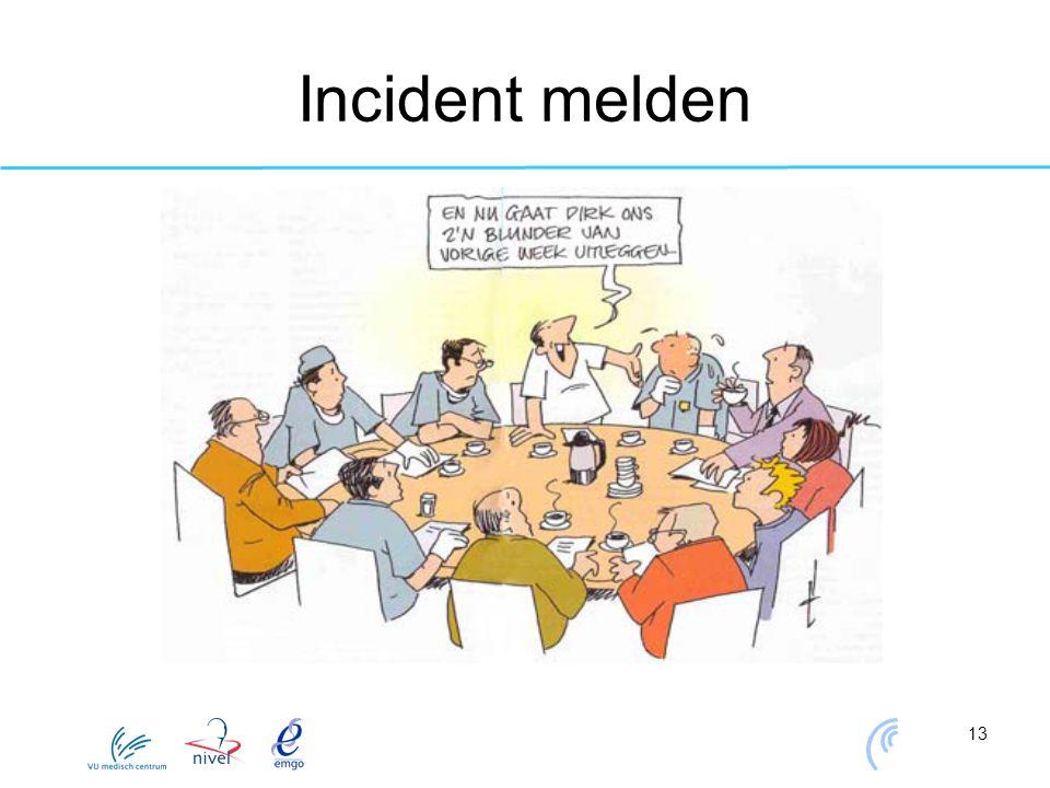 13 Incident melden