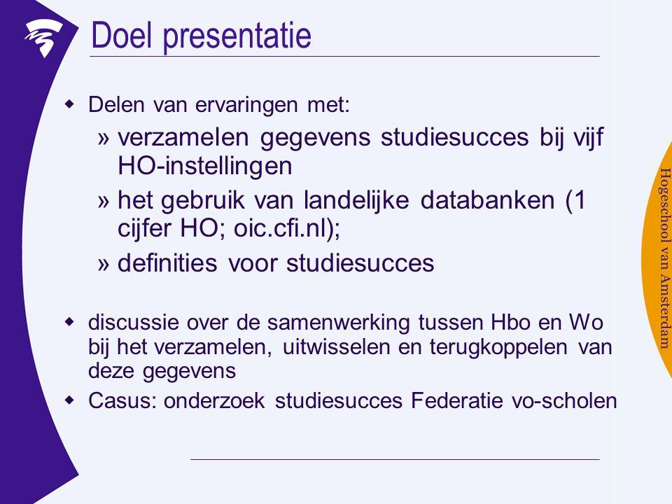 Discussie (2) De onderlinge uitwisselbaarheid van gegevens over studievoortgang binnen het ho moet worden vergroot!