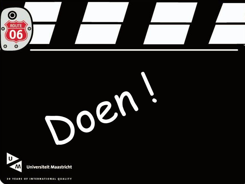 Universiteit Maastricht Doen !