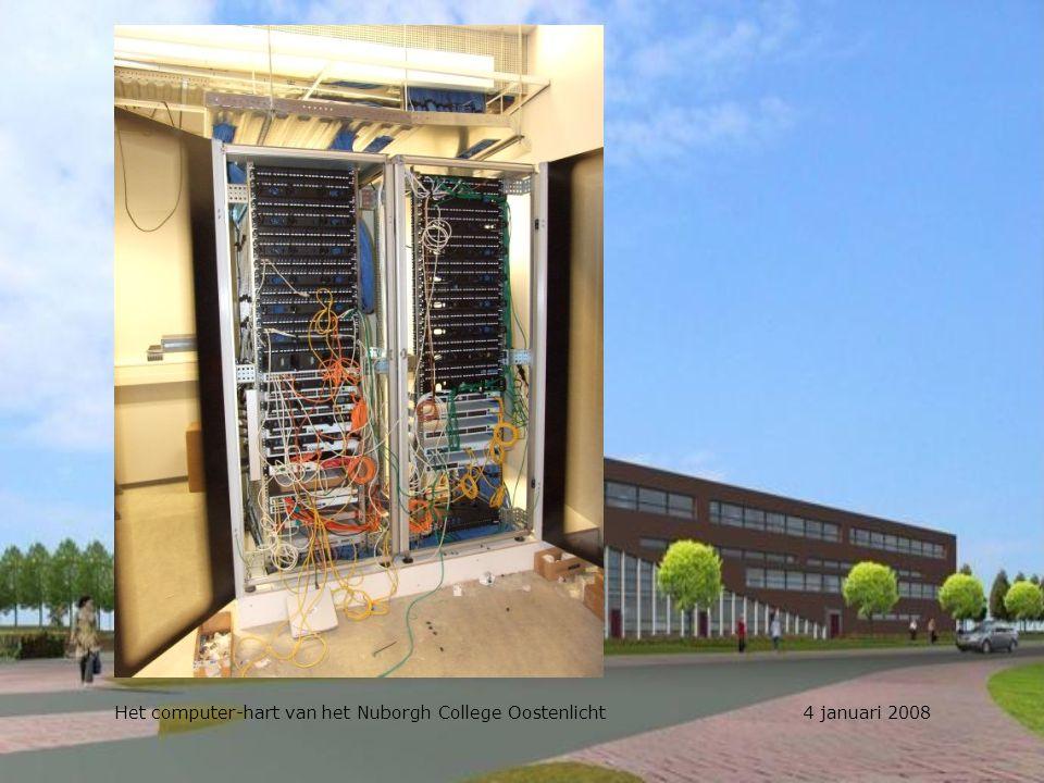 Het computer-hart van het Nuborgh College Oostenlicht 4 januari 2008