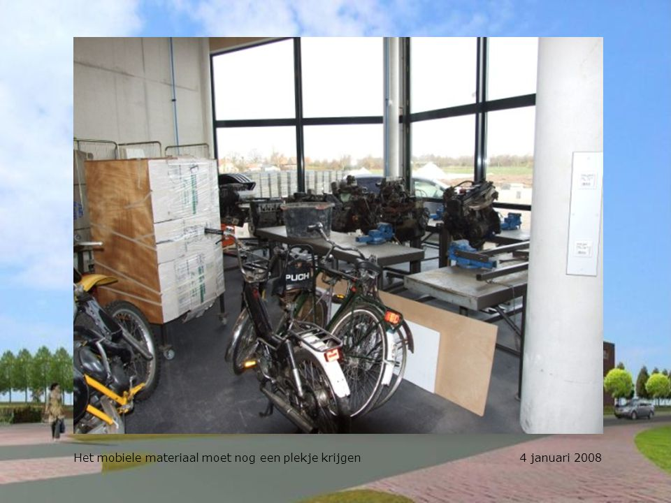 Werkplekken op de administratie. Werken met een riant uitzicht; kan dat? 4 januari 2008