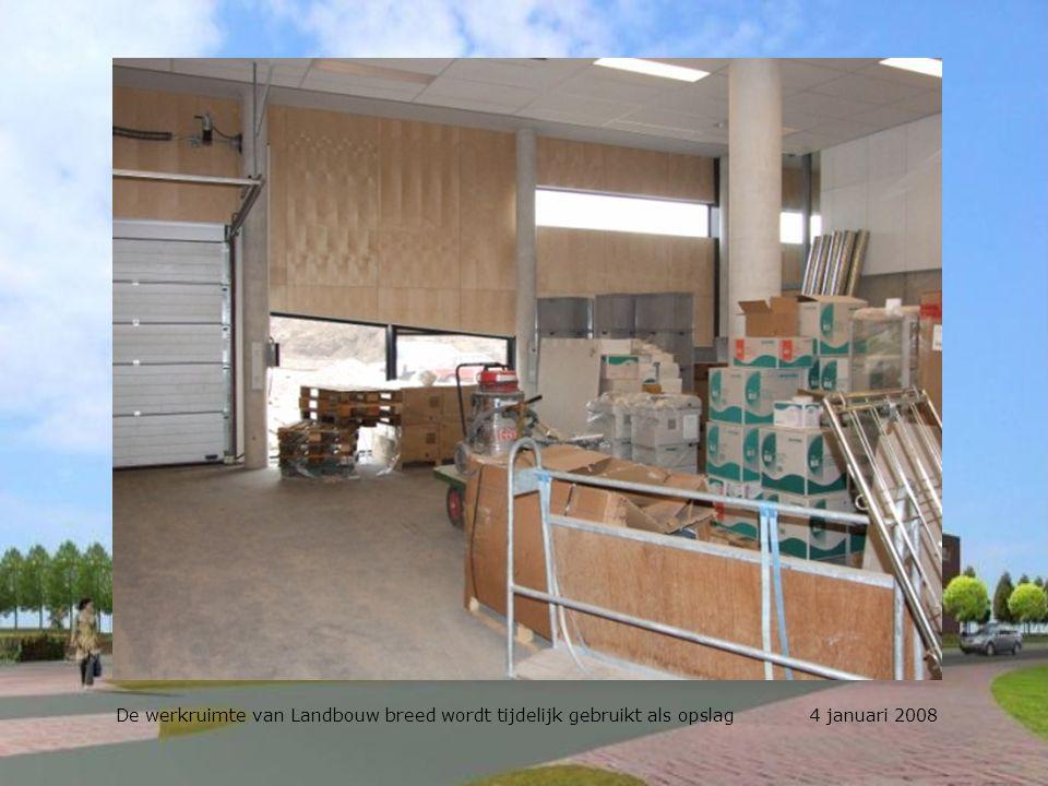 Het inspectieluikje erop en dan: Kliederen maar! 4 januari 2008