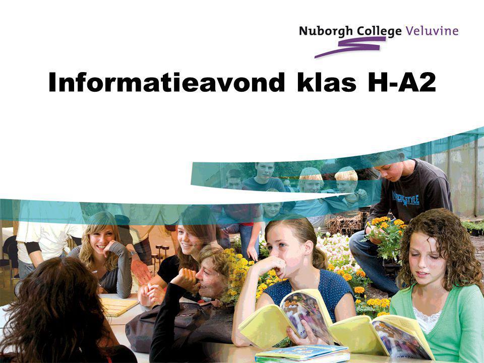 Informatieavond klas H-A2