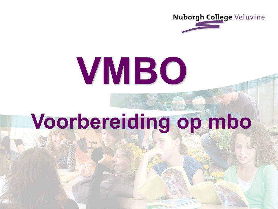 VMBO Voorbereiding op mbo
