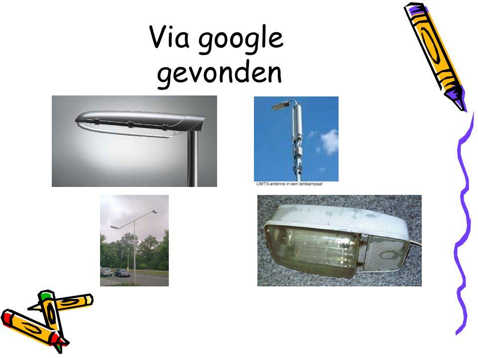 Via google gevonden