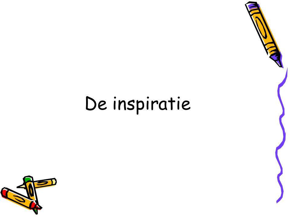 De inspiratie