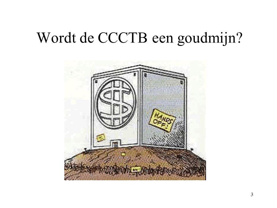 3 Wordt de CCCTB een goudmijn?
