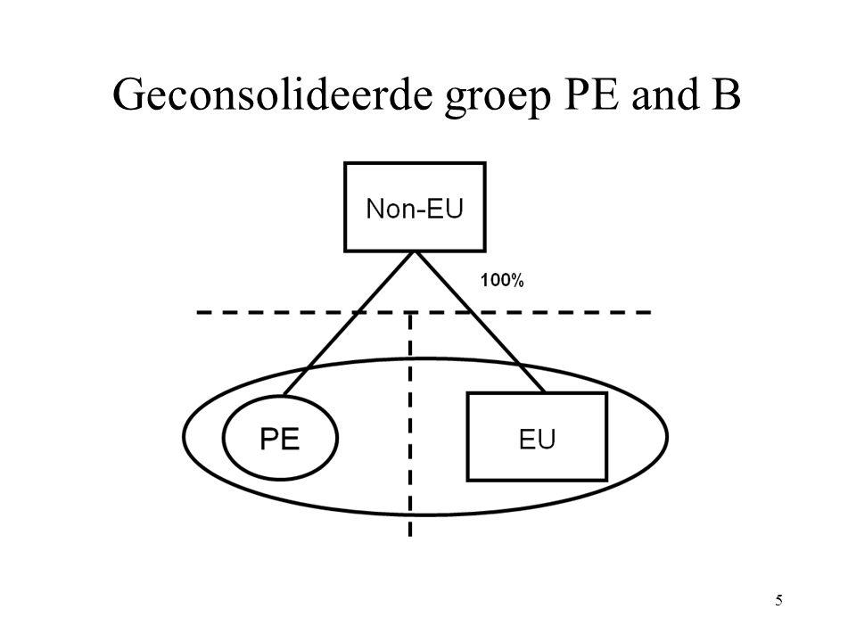 5 Geconsolideerde groep PE and B