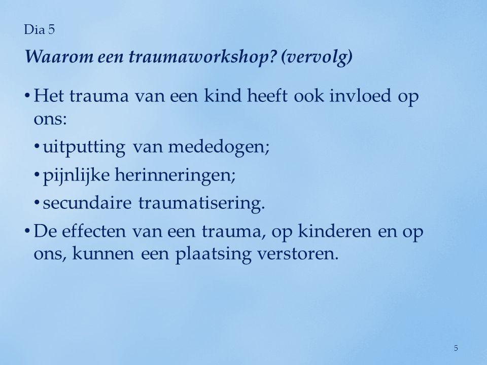 Dia 6 Sam (pleegouder): 'Niemand heeft de impact van een trauma op het leven van een kind echt aan mij uitgelegd.