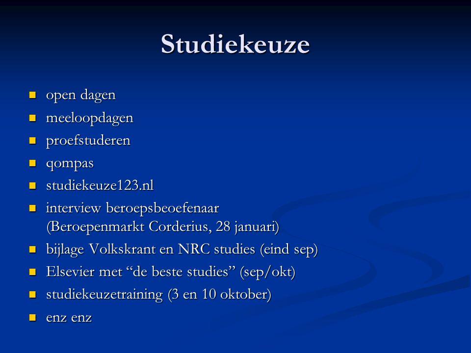 Studiekeuze open dagen open dagen meeloopdagen meeloopdagen proefstuderen proefstuderen qompas qompas studiekeuze123.nl studiekeuze123.nl interview be