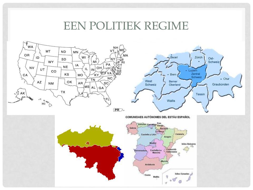 EEN POLITIEK REGIME