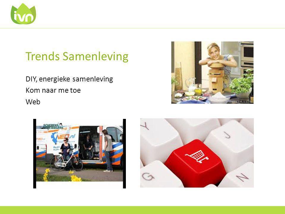 Trends Samenleving DIY, energieke samenleving Kom naar me toe Web