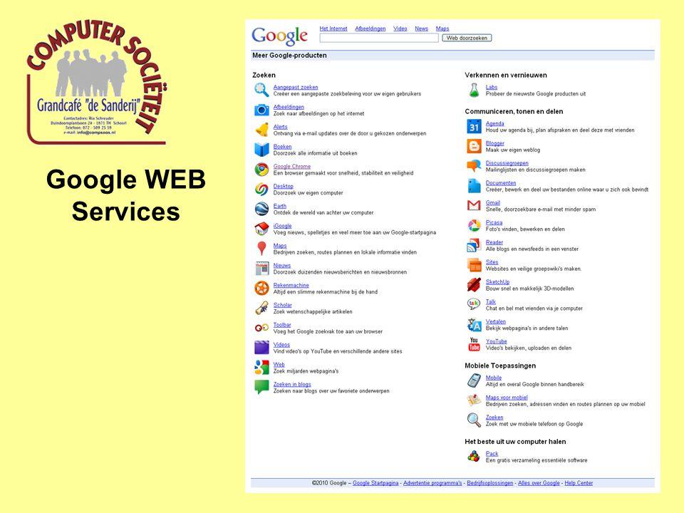 Google WEB Services
