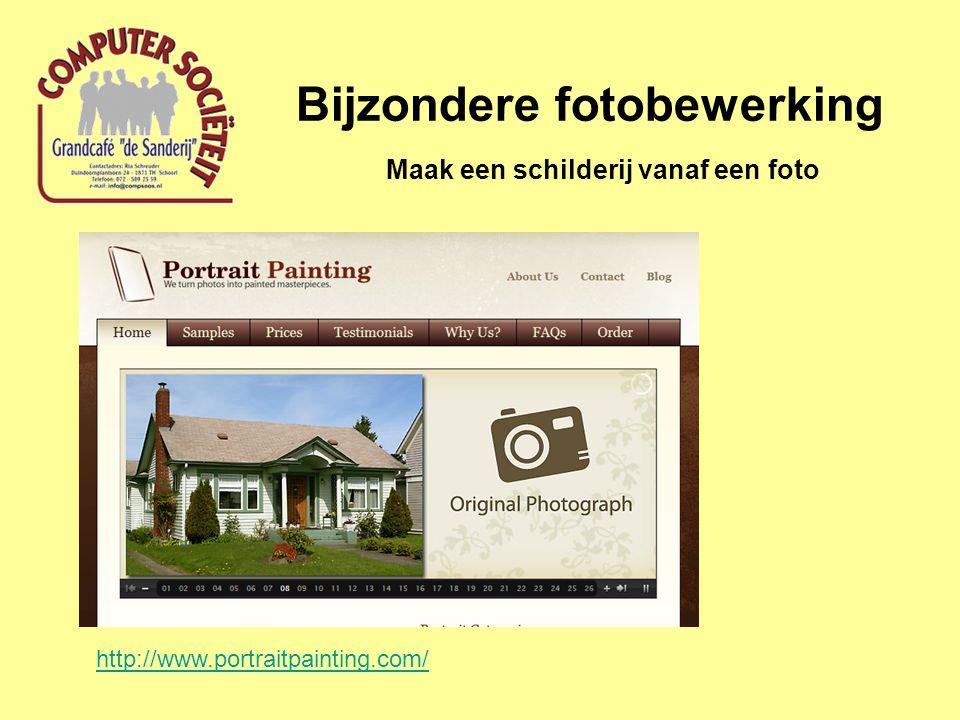 Bijzondere fotobewerking Maak een schilderij vanaf een foto http://www.portraitpainting.com/