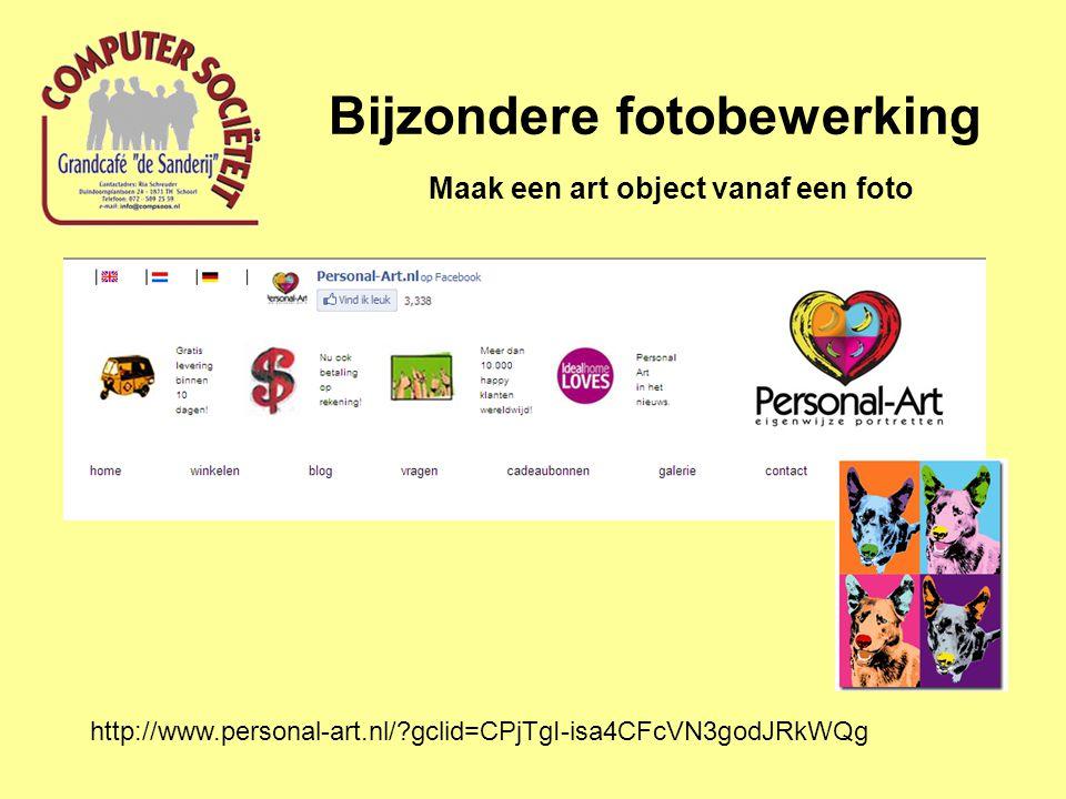 Bijzondere fotobewerking Maak een art object vanaf een foto http://www.personal-art.nl/?gclid=CPjTgI-isa4CFcVN3godJRkWQg