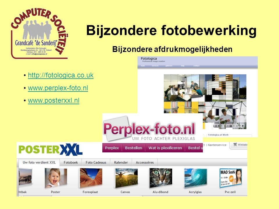 Bijzondere fotobewerking Bijzondere afdrukmogelijkheden http://fotologica.co.uk www.perplex-foto.nl www.posterxxl.nl