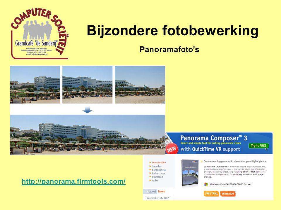 Bijzondere fotobewerking Panoramafoto's http://panorama.firmtools.com/