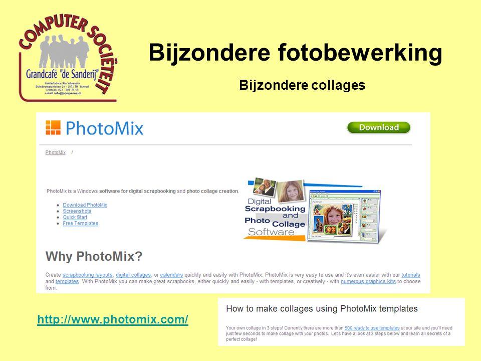 Bijzondere fotobewerking Bijzondere collages http://www.photomix.com/