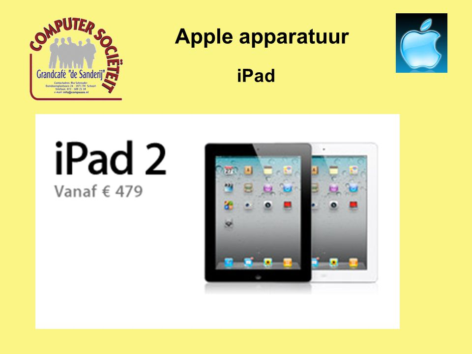 iPad Apple apparatuur