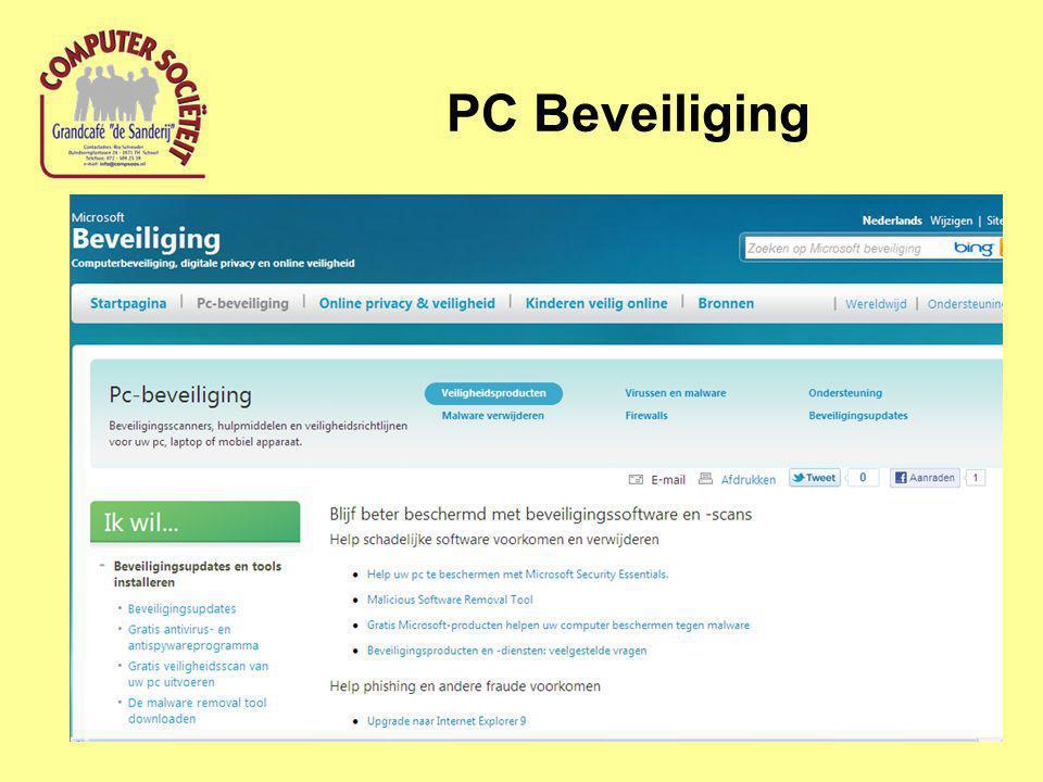 PC Beveiliging