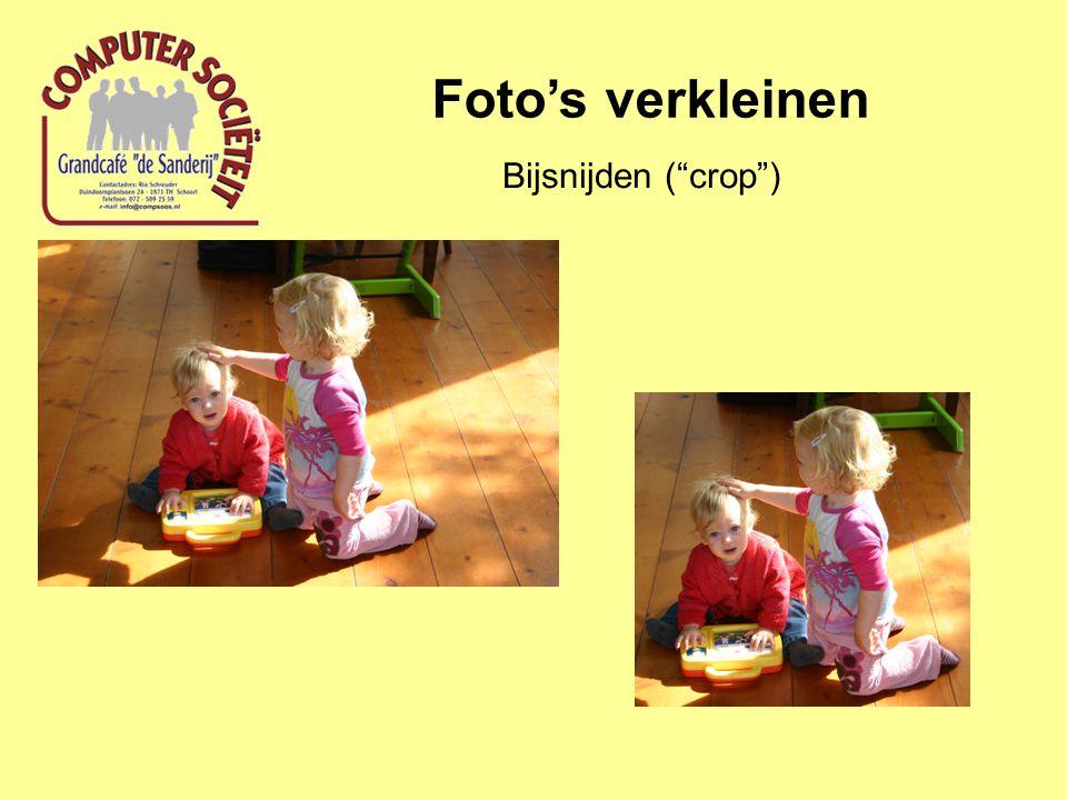 Bijsnijden ( crop )