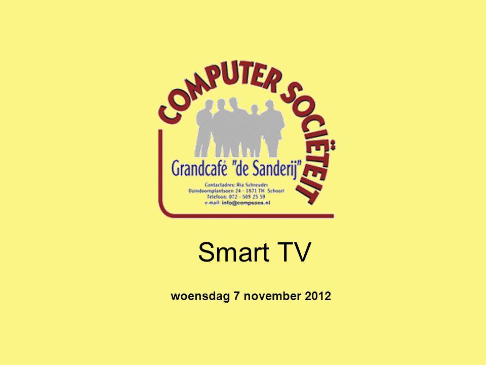 Wat is een Smart TV? Smart TV