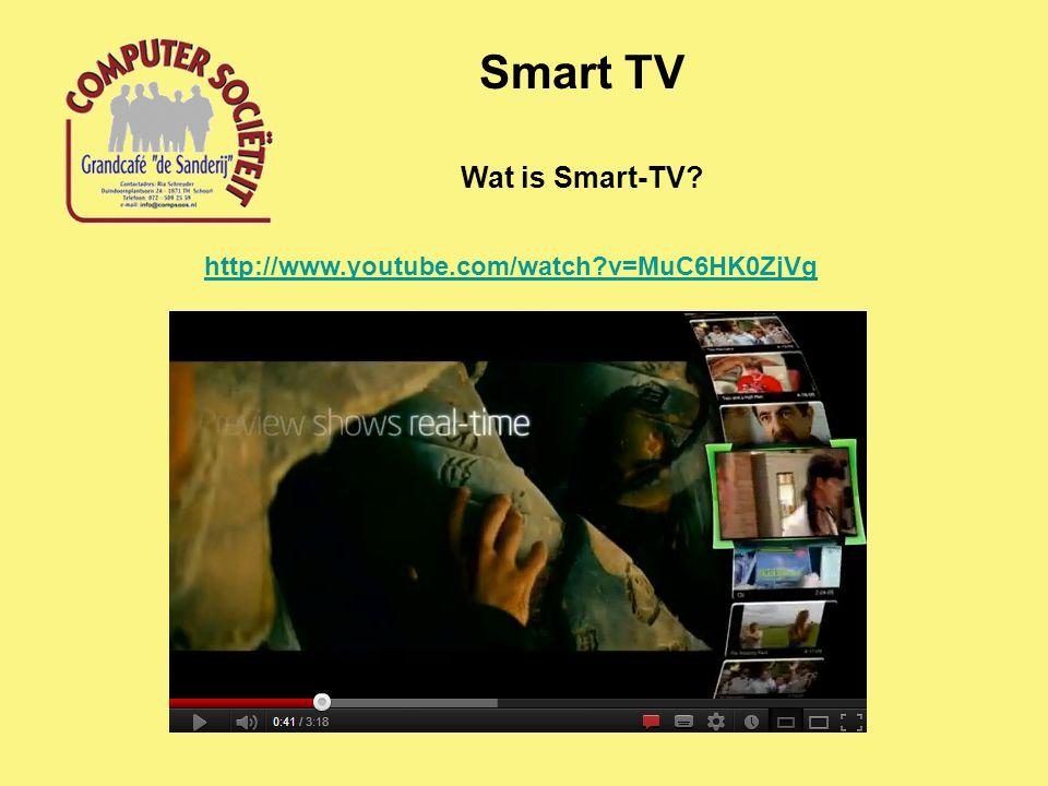 Belangrijkste functies Smart TV TV kijken (kabelnet, telefoonnet) Opnemen in huisnet (WiFi, Ethernet) Internetfuncties (browsen, e-mail) films downloaden video streamen