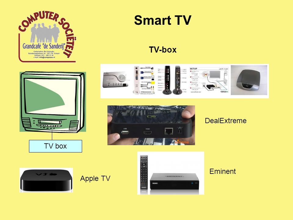 Smart TV TV box TV-box DealExtreme Eminent Apple TV
