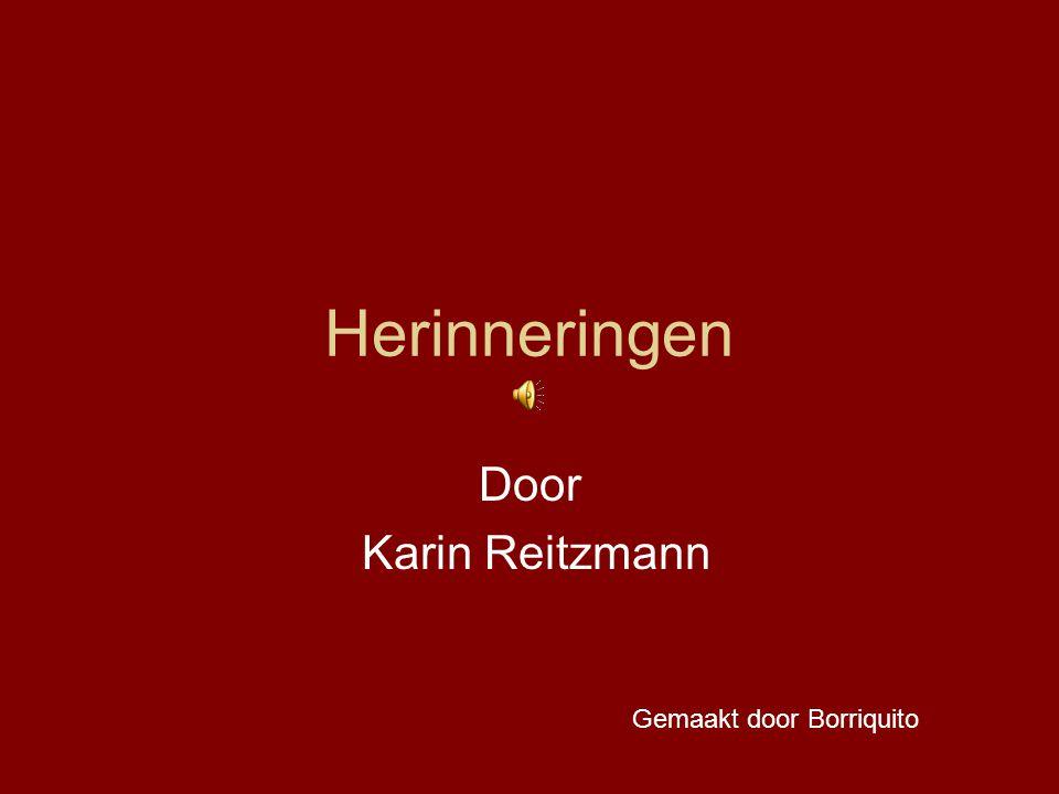 Herinneringen Door Karin Reitzmann Gemaakt door Borriquito