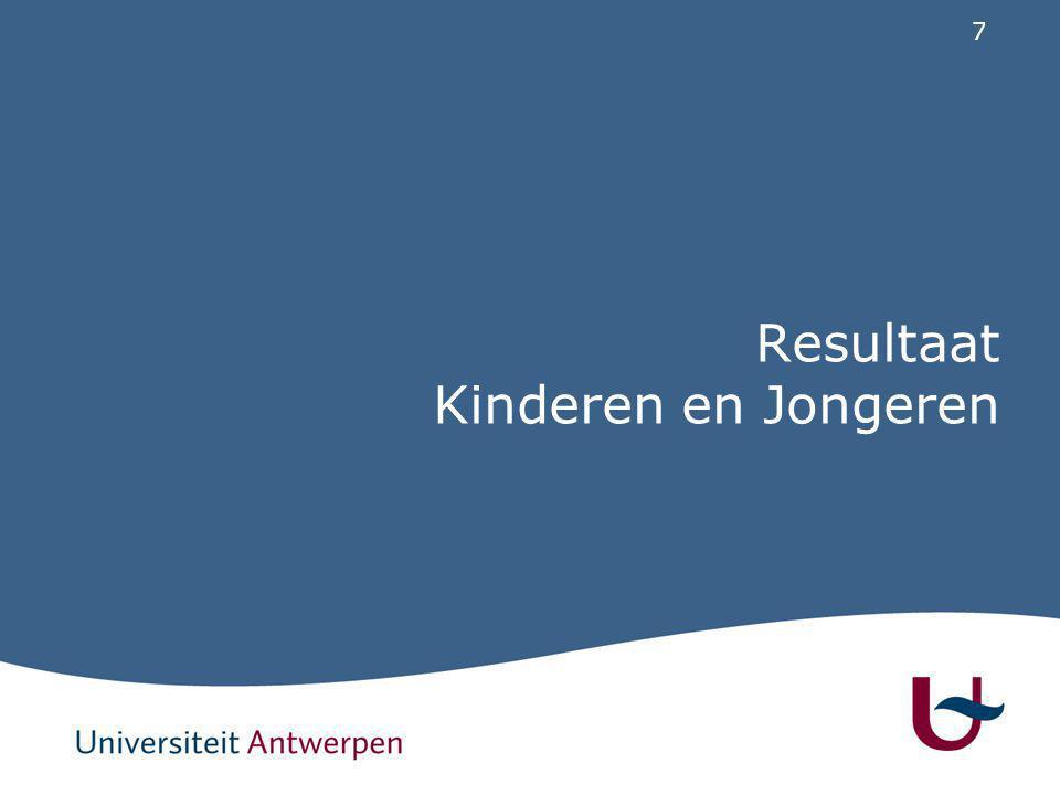 7 Resultaat Kinderen en Jongeren